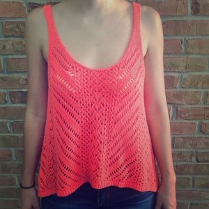 Abercrombie&Fitch knitted tank/coverup